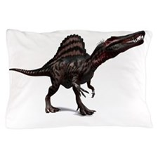 Spinosaurus dinosaur, artwork Pillow Case