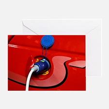Electric car Greeting Card