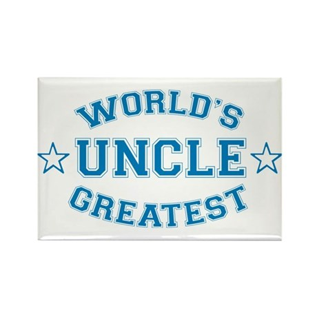 World's Greatest Uncle Rectangle Magnet (100 pack)