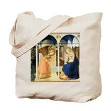 Fra Angelico The Annunciation Tote Bag