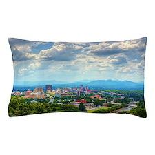 Asheville, North Carolina skyline nest Pillow Case