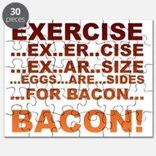 Exercise bacon Puzzle