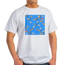 Fish shower curtain T-Shirt