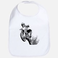 Dirtbike Wheeling in Mud Bib