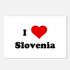 I Love Slovenia Postcards (Package of 8)