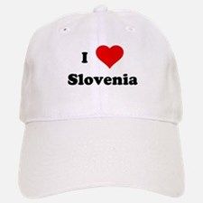 I Love Slovenia Baseball Baseball Cap