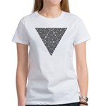 Blackwork Triangle Knot Women's T-Shirt