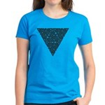 Blackwork Triangle Knot Women's Dark T-Shirt