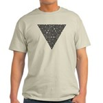 Blackwork Triangle Knot Light T-Shirt