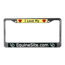 Unique My web site License Plate Frame