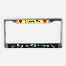 Cool Horse website License Plate Frame