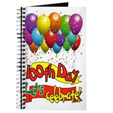 100th Day Balloons Journal