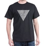 Blackwork Triangle Knot Dark T-Shirt