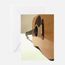 De Chiricos guitar Greeting Card