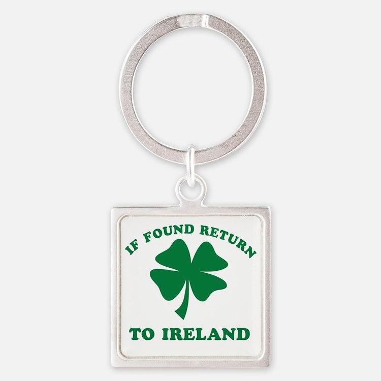 If found return to Ireland Square Keychain