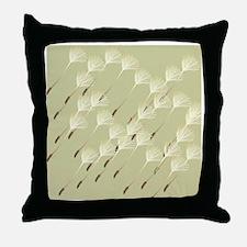 Dandelion seeds shower curtain Throw Pillow