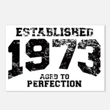 Established 1973 - Aged t Postcards (Package of 8)
