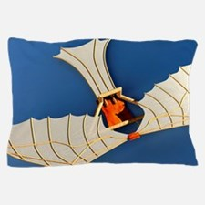 Flying machine, computer artwork Pillow Case