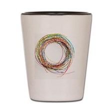 Electrical wires Shot Glass