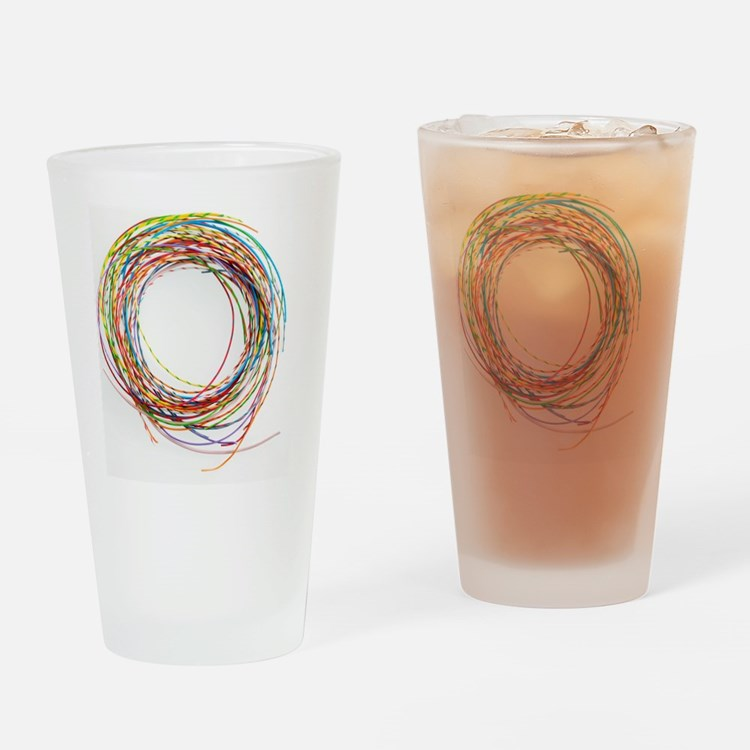 Electrical wires Drinking Glass