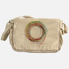 Electrical wires Messenger Bag