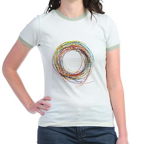 Electrical wires Jr. Ringer T-Shirt