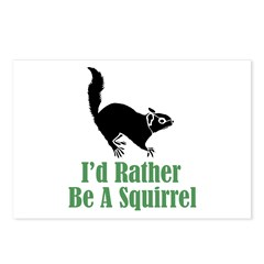 Rather Be A Squirrel Postcards (Package of 8)