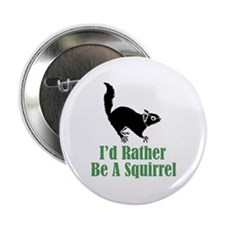 Rather Be A Squirrel Button