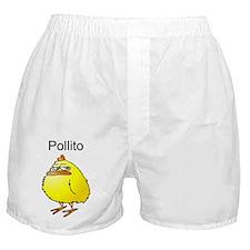 Pollito Malhumorado Boxer Shorts