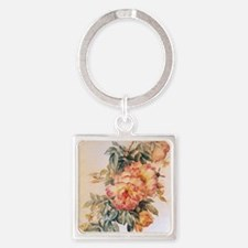 or_60_curtains_834_H_F Square Keychain