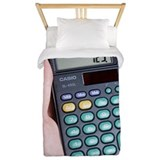 Calculator Twin Duvet Covers