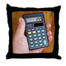 Electronic calculator Throw Pillow