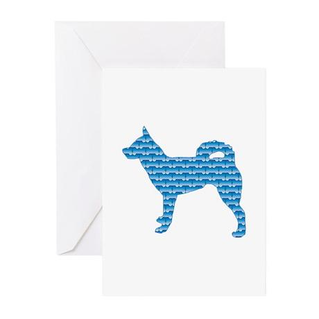 Bone Klee Kai Greeting Cards (Pk of 10)