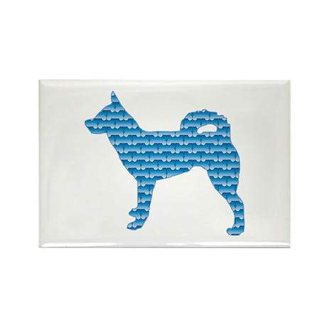 Bone Klee Kai Rectangle Magnet (10 pack)