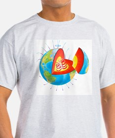 Earth's magnetic field T-Shirt