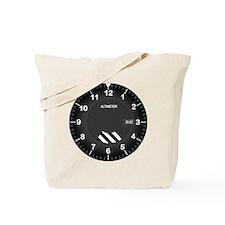 Altimeter Wall Clock Tote Bag