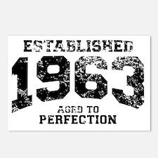 Established 1963 - Aged t Postcards (Package of 8)