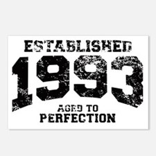 Established 1993 - Aged t Postcards (Package of 8)