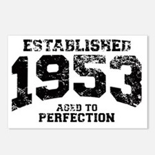 Established 1953 - Aged t Postcards (Package of 8)