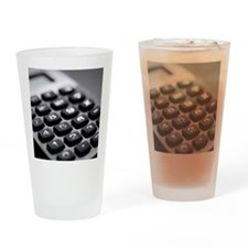 Electronic calculator Drinking Glass