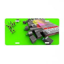 Electronic publishing Aluminum License Plate