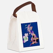 Electronic UK Canvas Lunch Bag