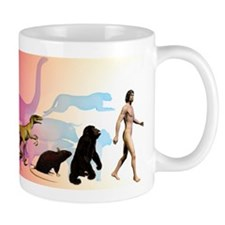 Evolution of man Mug