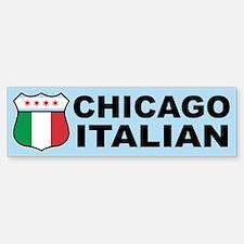 Chicago Italian American Bumper Bumper Bumper Sticker