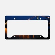 Maysville at night License Plate Holder