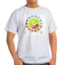 Galapagos finches, artwork T-Shirt