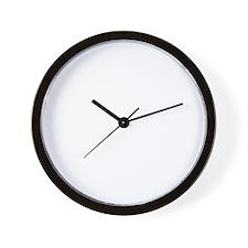 Drop Bass Not Bombs Wall Clock
