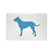 Bone Dogo Rectangle Magnet (100 pack)