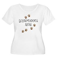 Schapendoes Mom Plus Size T-Shirt