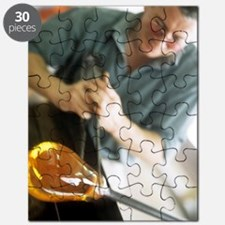 Glass blower Puzzle